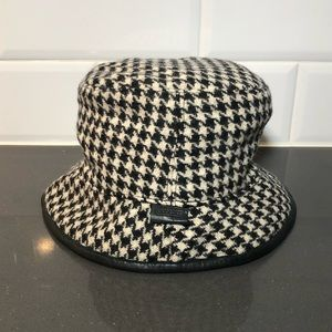 Coach Houndstooth Hat